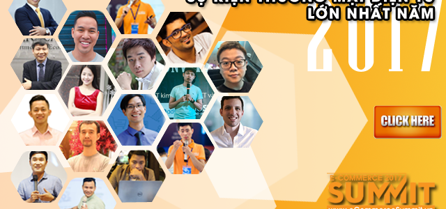 Sự kiện eCommerce Summit 2017